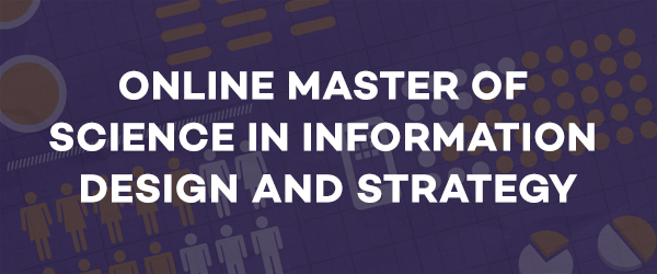 Online Master of Science in Information Design and Strategy